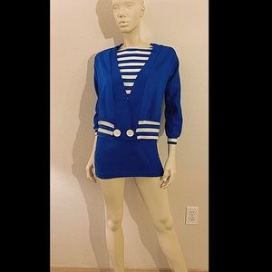 80s DVF Diane Von Furstenberg Knit Mini Dress
